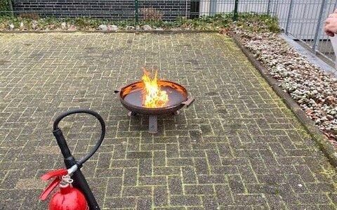 Brandschutz!