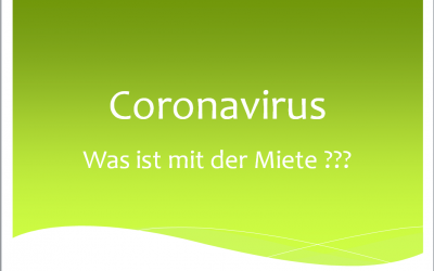 Mietzahlung in der Corona Krise